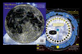 Mapa Księżyca z selenogramem, autor: Paweł Matys