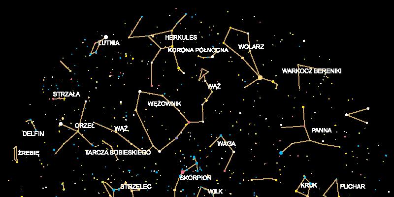 gwiazdy i konstelacje