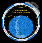 Star Wheels - Obrotowa Mapa Nieba - wersja angielska (PCV), autor: Paweł Matys
